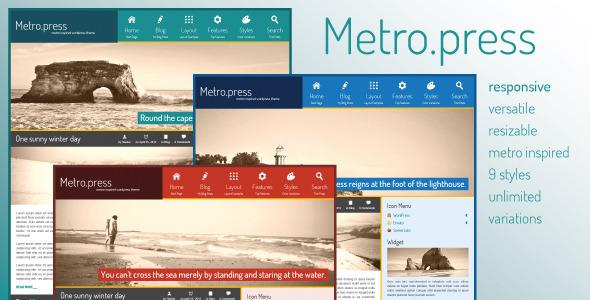 Metropress-非yoo的yoo主题汉化版
