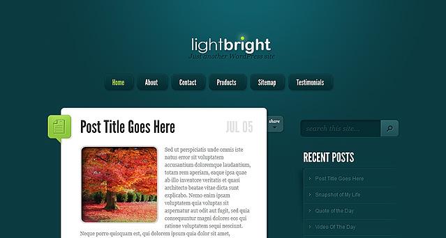 Elegant themes精致博客主题LightBright汉化版