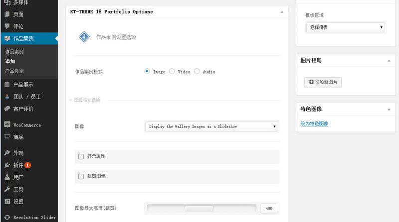 wordpress外贸企业产品展示主题RT-Theme 18洛米中文汉化修改版 4